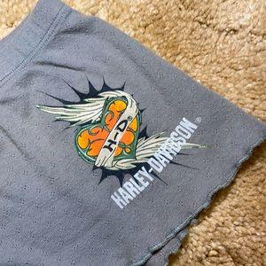 Harley Davidson Lounge Shorts Size XS